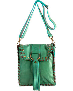 STS Ranchwear Destiny's Dee Jade Conceal Carry Crossbody , Light/pastel Green, hi-res