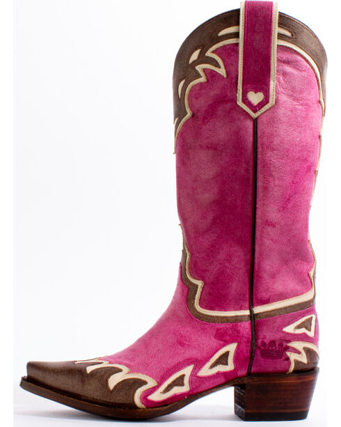 Junk Gypsy by Lane Women's Pink Back 40 Western Boots - Snip Toe, , hi-res