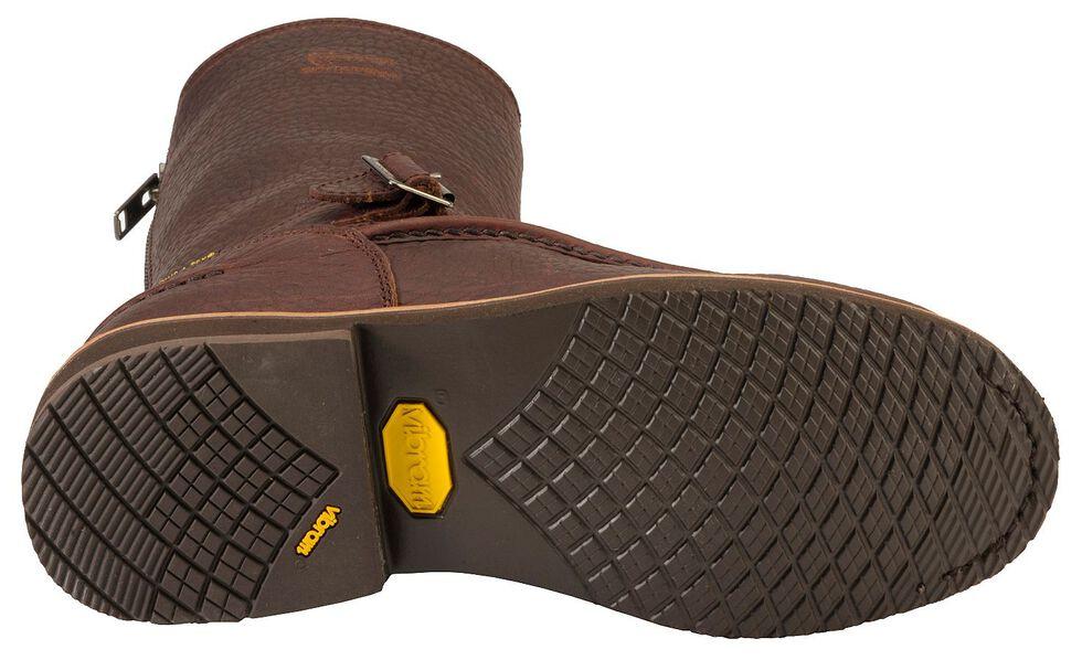 Chippewa Waterproof Bison Zip-up Harness Boots - Mocc Toe, Briar, hi-res