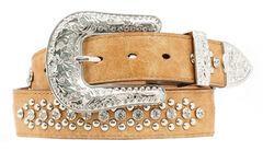 Nocona Heart & Wing Inlay Belt, , hi-res