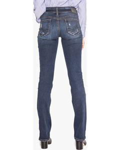 Silver Women's Indigo Suki Slim Fit Jeans - Boot Cut , Indigo, hi-res