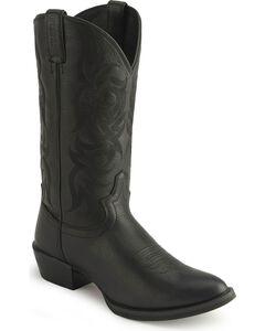Justin Stampede Western Cowboy Boots - Medium Toe, , hi-res