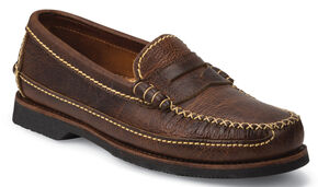 Chippewa Men's Rugged Casual Bison Penny Loafers, Brown, hi-res