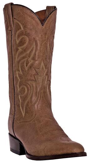 Dan Post Men's Milwaukee Cowboy Boots - Round Toe , Sand, hi-res