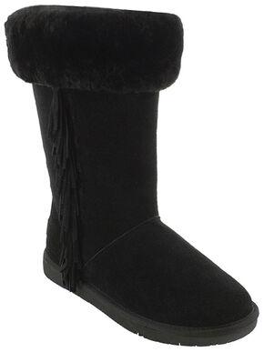 Minnetonka Women's Canyon Boots, Black, hi-res
