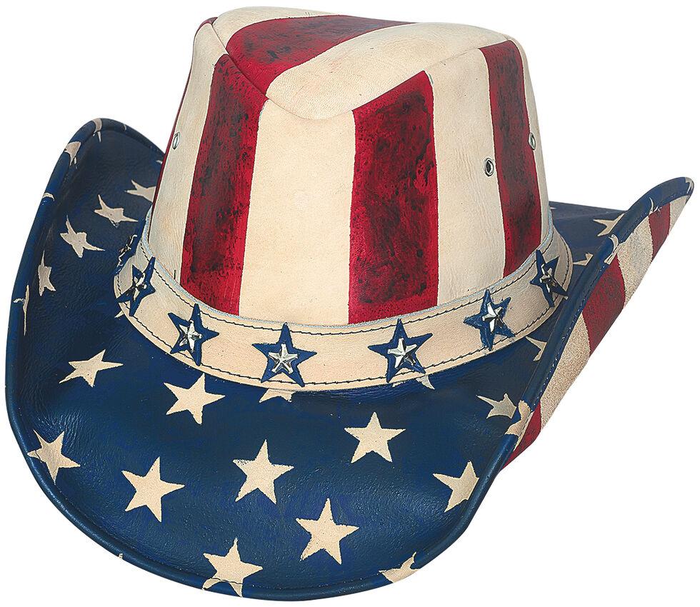 Bullhide Hats Men's American By Heart Western Hat, Am Spirit, hi-res
