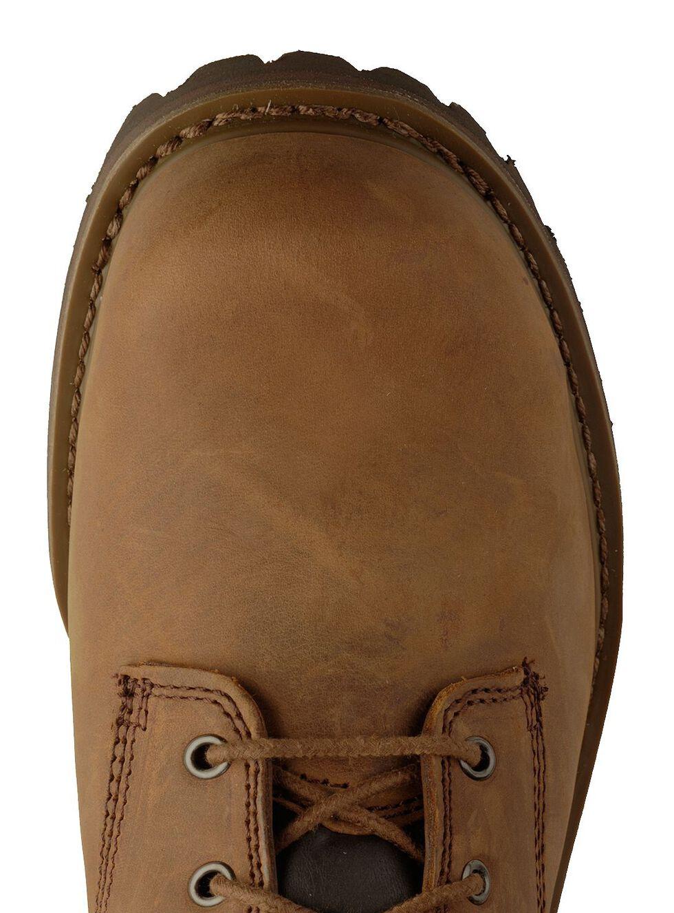"""Chippewa IQ Tough Oblique 8"""" Logger Boots - Steel Toe, Bark, hi-res"""