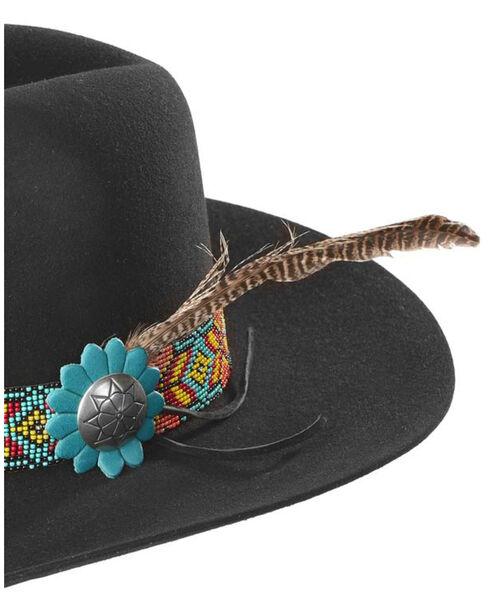 Charlie 1 Horse Women's Gold Digger 5X Hat , Black, hi-res