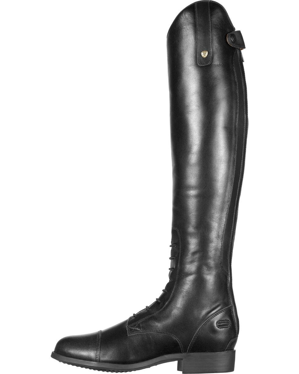 Ariat Women's Heritage Contour Field Zip Riding Boots, Black, hi-res