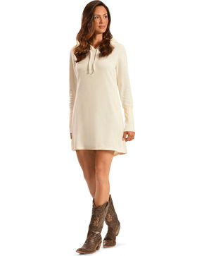 Others Follow Women's Aliza Tunic Dress, Cream, hi-res