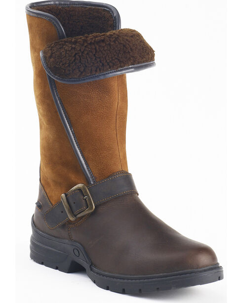 Ovation Women's Blair Country Boots, Brown, hi-res