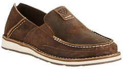 Ariat Men's Brown Cruiser Shoes - Moc Toe, , hi-res