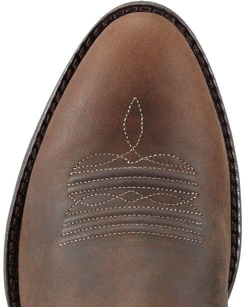 Ariat Magnolia Sunflower Stitch Cowgirl Boots - Medium Toe, Brown, hi-res