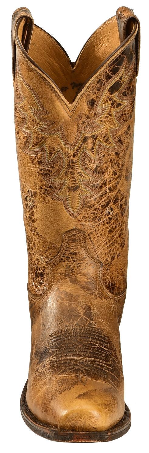 Tony Lama Men's Americana Leather Western Boots - Square Toe, , hi-res
