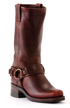 Frye Men's Belted Harness 12R Boots - Square Toe, , hi-res