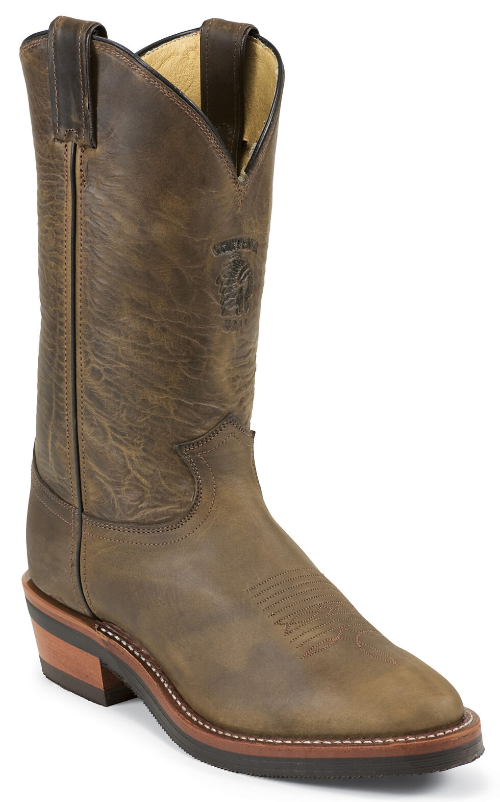 Chippewa Arroyos Bay Apache Packer Boots - Round Toe, Bay Apache, hi-res