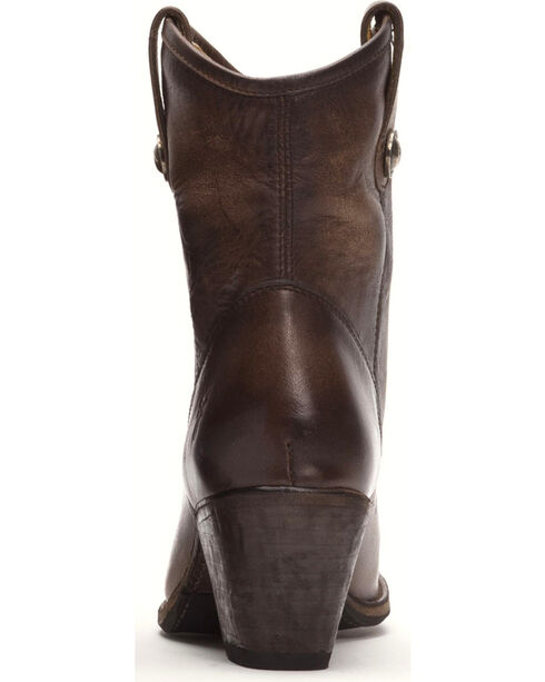Frye Women's Slate Jackie Button Short Boots - Medium Toe , Grey, hi-res