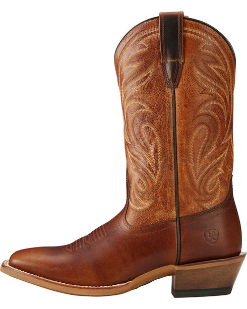 Ariat Men's Fire Creek Western Boots - Square Toe , Brown, hi-res