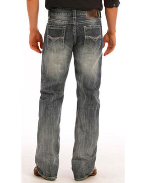 Rock & Roll Cowboy Men's Double Barrel Relaxed Fit Jeans - Boot Cut, Indigo, hi-res