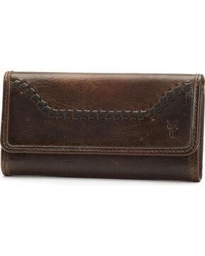 Frye Women's Melissa Whip-Stitched Wallet , Slate, hi-res