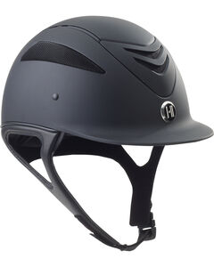 One K Defender Black Matte Helmet, Black, hi-res