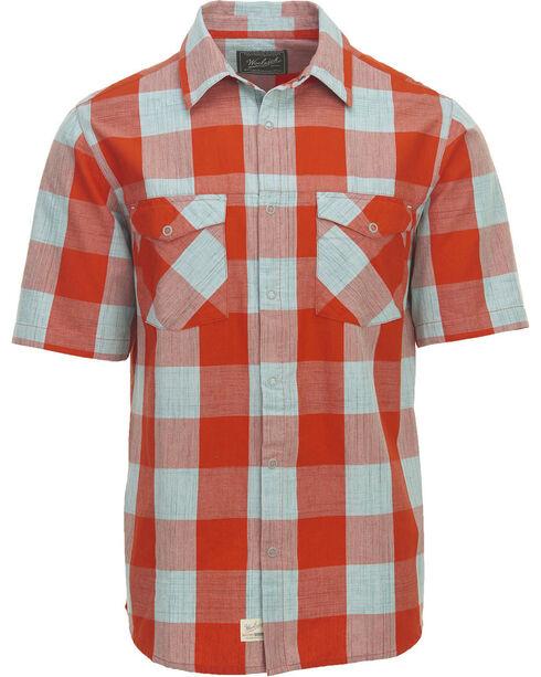 Woolrich Men's Zephyr Ridge Buffalo Check Shirt , Red, hi-res