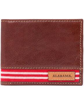 Jack Mason University of Alabama Tailgate Traveler Wallet , Brown, hi-res