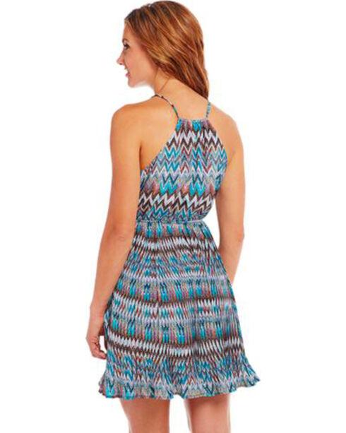 Cowgirl Up Blue Zig Zag Dress, Multi, hi-res
