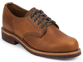 Chippewa Men's Whirlwind Service Oxford Shoes, Tan, hi-res