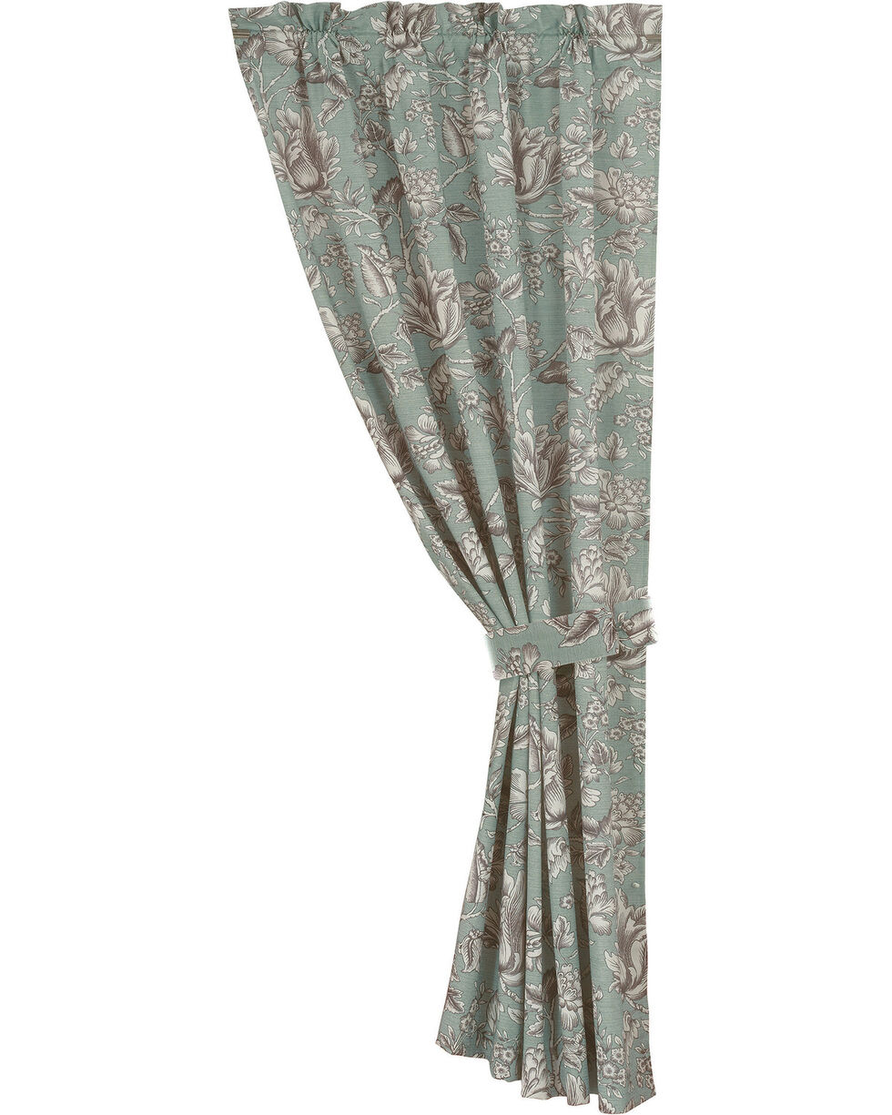 HiEnd Accent Multi Gramercy Floral Curtain, Multi, hi-res