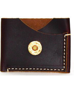 SouthLife Supply Men's Jefferson Plum Leather Card Holder, Dark Brown, hi-res