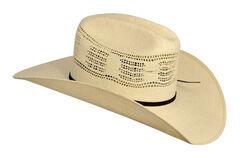 Bailey Ricker Straw Cowboy Hat, Natural, hi-res