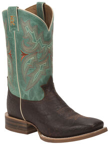7b5bf19133e Tony Lama Cognac Jasper 3R Stockman Boots - Round Toe