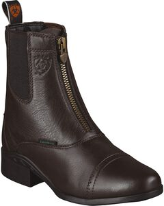 Ariat Heritage Breeze Paddock Riding Boots - Round Toe, Brown, hi-res