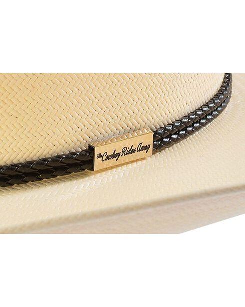 Resistol George Strait Rides Away Straw Cowboy Hat, Natural, hi-res