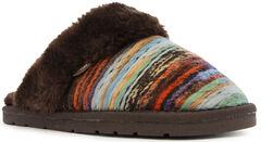 Lamo Footwear Women's Juarez Scuff Slippers, Chocolate, hi-res