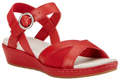 Ariat Women's Red Out & About Strap Sandals , , hi-res