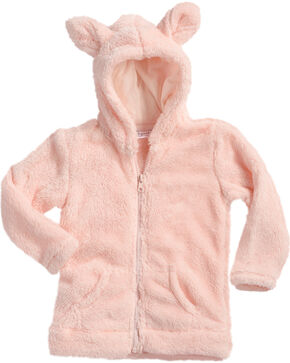 Shyanne Toddler Girls' Horse Woobie Jacket, Pink, hi-res