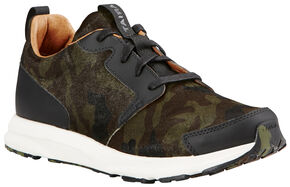 Ariat Women's Camo Suede Fusion Athletic Shoes, Camouflage, hi-res