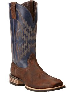 Ariat Tycoon Cowboy Boots - Square Toe, , hi-res