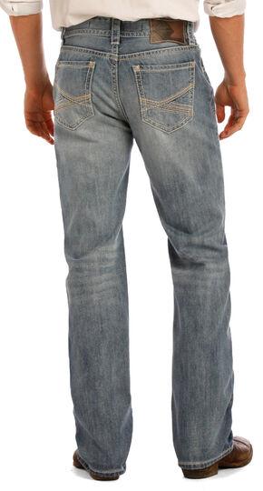 Rock & Roll Cowboy Men's Indigo Double Barrel Jeans - Straight Leg, Indigo, hi-res