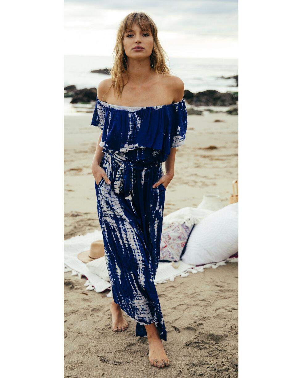 Sage the Label Women's Isabella Maxi Dress , Navy, hi-res