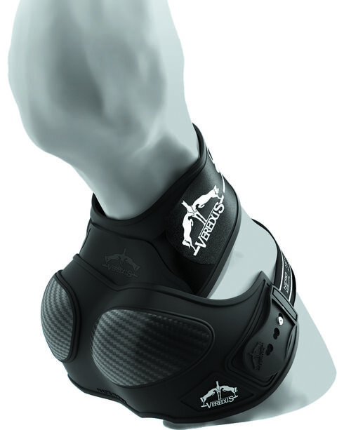 Veredus Carbon Shield Heel Protector, Black, hi-res