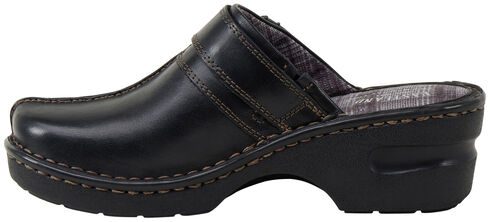 Eastland Women's Black Mae Clogs, Black, hi-res