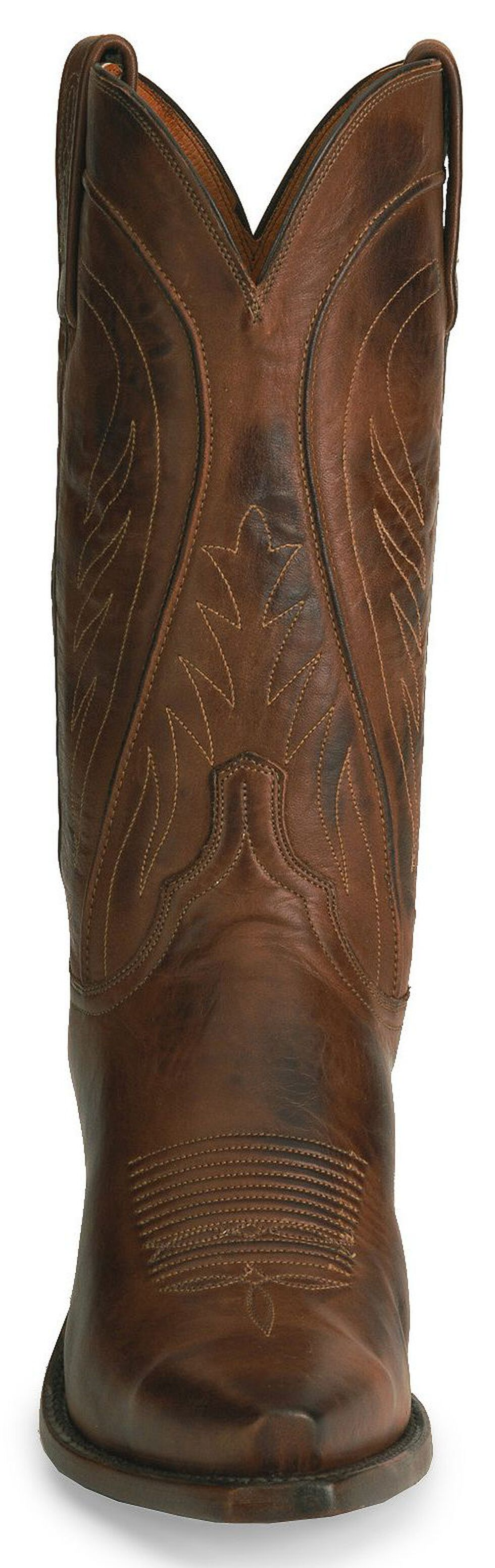 Lucchese Handmade 1883 Tan Ranch Hand Cowboy Boots, Tan, hi-res
