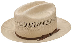 Stetson Men's Tan Open Road Hat, Tan, hi-res