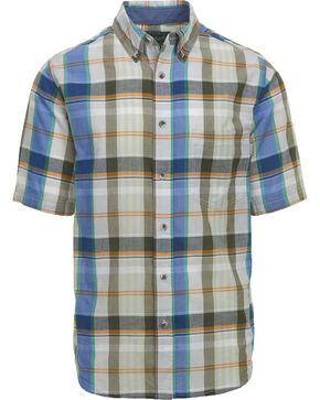 Woolrich Men's Timberline Madras Plaid Shirt , Light/pastel Blue, hi-res