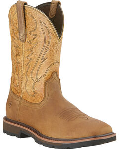 Ariat Groundbreaker Cowboy Boots - Square Toe, , hi-res