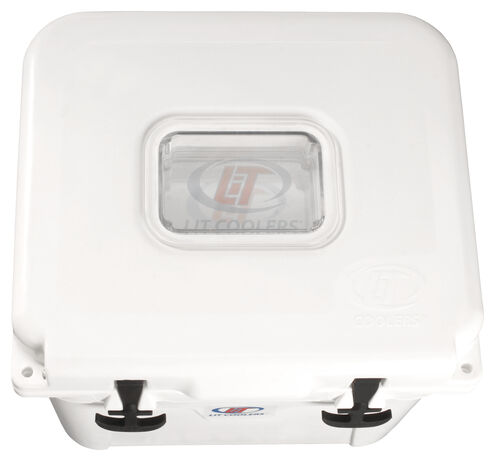 LiT Firefly TS-300 White Cooler - 22 Quart, White, hi-res