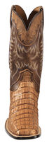 Lucchese Handmade 1883 Men's Rhys Hornback Caiman Cowboy Boots - Square Toe, Tan, hi-res